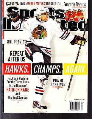 September 30, 2013 Patrick Kane Chicago Blackhawks Sports Illustrated NO LABEL A