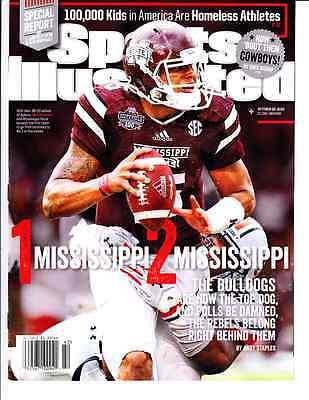 October 20, 2014 Dak Prescott Mississippi State Sports Illustrated NO LABEL