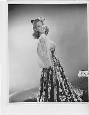 Dinah Shore busty southern belle VINTAGE Photo Up In Arms (Southern Belle Movies)