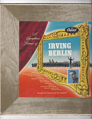Guy Luypaerts : A Symphonic Portrait of  Irving Berlin 50er Jahre Capitol  LP