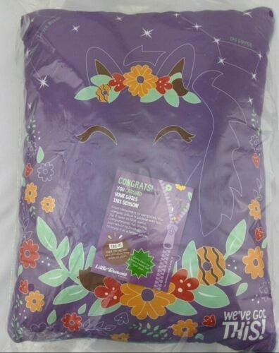 Little Brownie Baker Girl Scout 2021 NIP Zipper Pocket Pillow. We