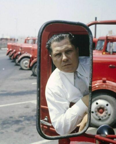JIMMY HOFFA 8X10 PHOTO TEAMSTER LEADER UNION LABOR PICTURE