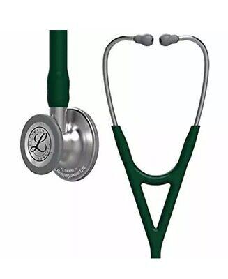 3m 6155 Littmann Cardiology Iv Stethoscope 27 - Hunter Green Tubing
