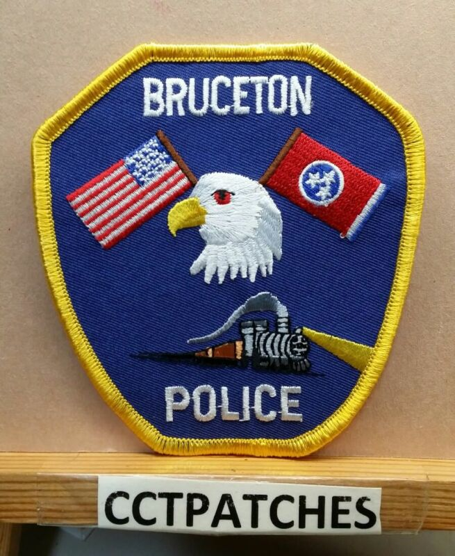 BRUCETON, TENNESSEE POLICE SHOULDER PATCH TN