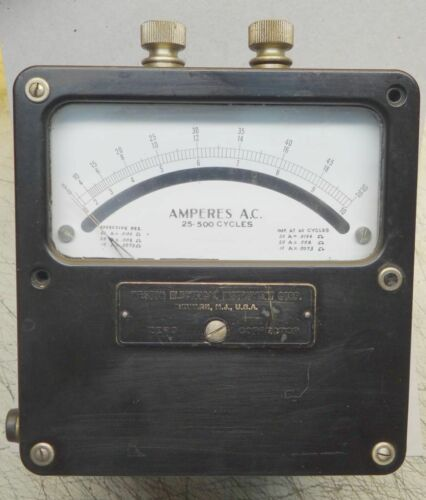 Weston Amp Meter 25-500 Cycles Model 433