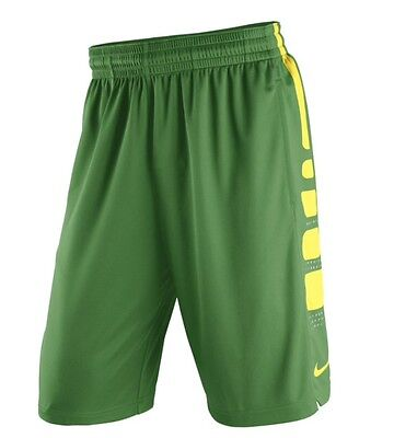 Nike Men's LARGE $50 Oregon Ducks Practice Elite Performance Basketball Shorts