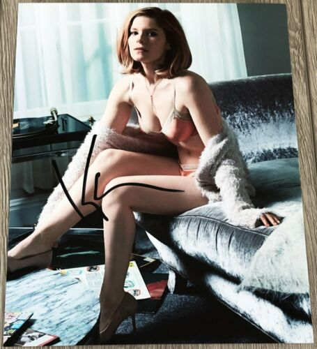 KATE MARA SIGNED AUTOGRAPH HOUSE OF CARDS MARTIAN SHOOTER 8x10 PHOTO A w/PROOF