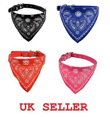 Dog Accessories Uk - Dog Cat Bandana Accessories Adjustable Necktie Collar UK Bowtie Pet Bow tie New