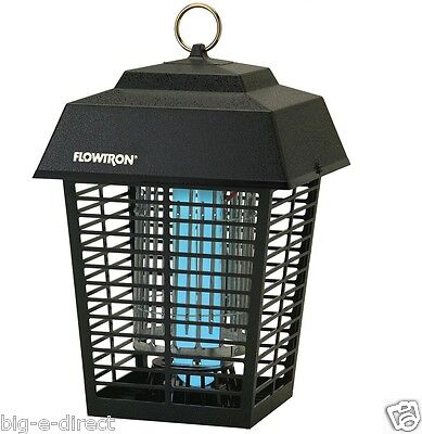 Flowtron Electronic Flying 1 2 Acre Insect Controller Mosquito Bug Zapper Light