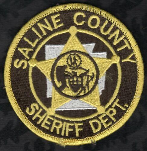 👀😜😊👍 Saline County Illinois Sheriff Patch