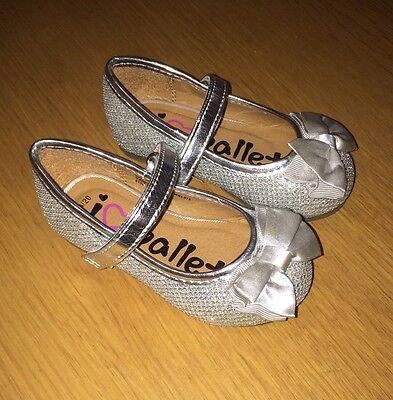 Girls Party Shoes Infant Size 4 EU 20