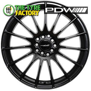 Procast INDY 18x8 5/114.3 BLACK SUEDE Alloy Wheels Prestons Liverpool Area Preview