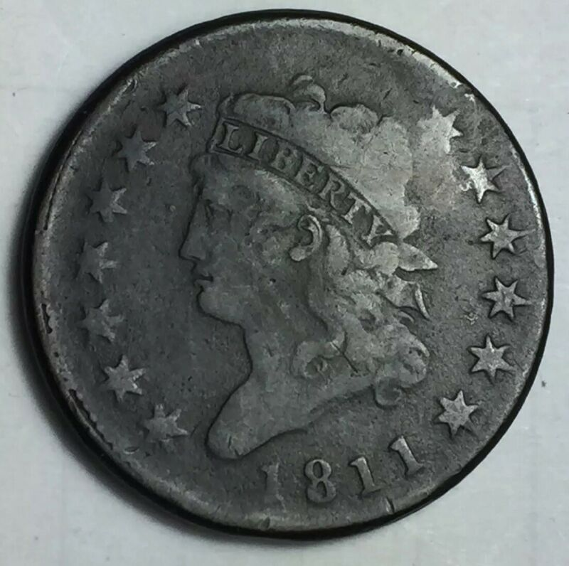 SCARCE 1811 Classic Head Large Cent