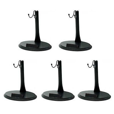 5 pcs 1/6 Scale Action Figure Base Display Stand U Type for Hot Toys NIB BBI