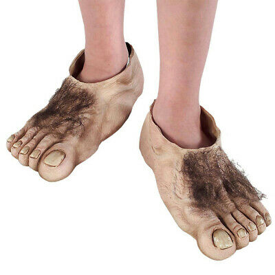 Lord of The Rings Hobbit Costume Feet Child](Kids Lord Of The Rings Costumes)