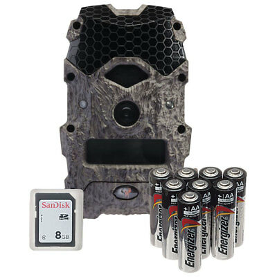 Wildgame Innovations Mirage 18 MP Trail Camera w/ 8GB SD Card and Batteries