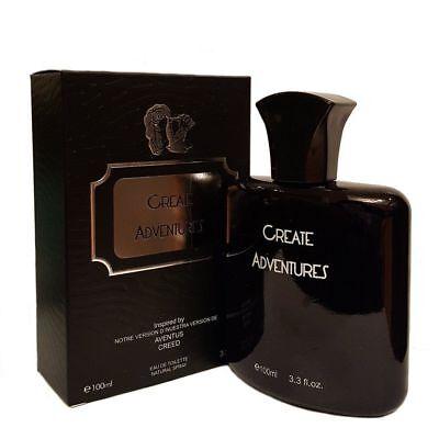 Create Adventures Men Eau De Toilette Natural Spray Royal Fragrance 3 3 Oz New