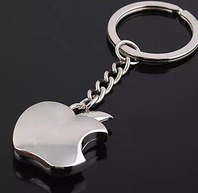 Apple logo Metal Key Chain  Apple Keychain Key -