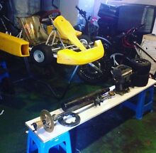 Yamaha 100j engine and frame with all parts gmail and Mail only Fairfield Heights Fairfield Area Preview
