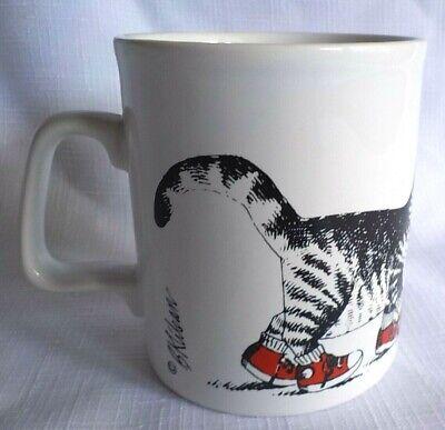 B Kliban Cat Red Sneakers Tennis Shoes Coffee Mug Cup 10 Oz Kiln Craft England