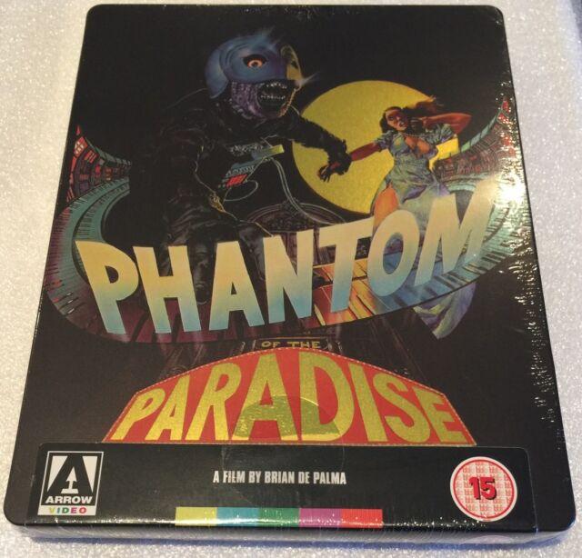 Phantom Of The Paradise Steelbook - Limited Edition Blu-Ray **Region B**