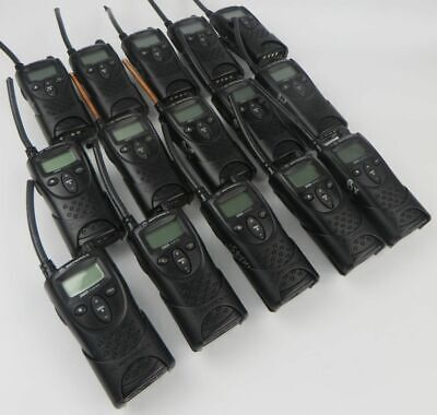 Lot Of 15 Motorola Xtn Xv1100 1ch Vhf 151-159mhz Business Radios - Radios Only -
