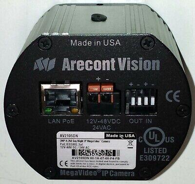 Arecont Vision Av2105dn 2 Megapixel Ip-camera Daynight Ccd - Usa Seller