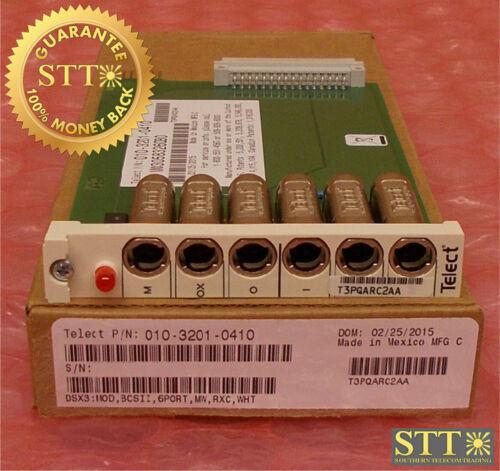 010-3201-0410 Telect Dsx-3 Bb 6-port Module T3pqarc2aa New