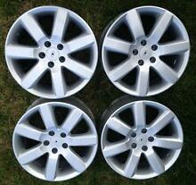 4x Genuine Ford FPV BA BF 18inch rims GT GT-P GTP wheels mags XR6 Epping Whittlesea Area Preview