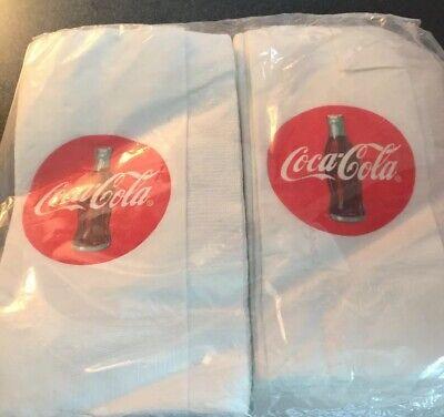 Coca Cola Napkins 1 Ply Pack Of 100 13X13