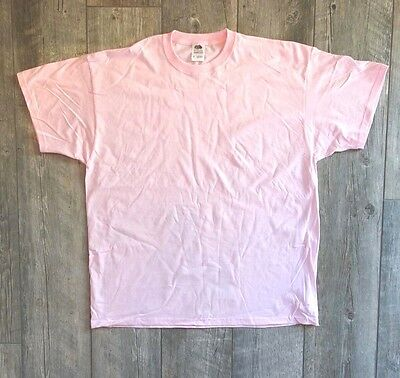 New Women's Fruit of the Loom T-Shirt - Pink - 2X & 3X