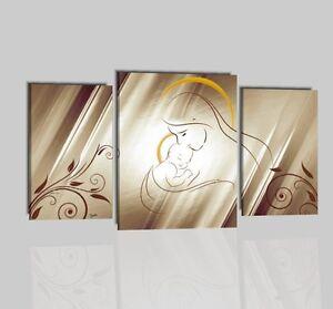 Quadri dipinti a mano madonna con bambino per camera da letto capezzale ebay - Quadri moderni per camera da letto ...