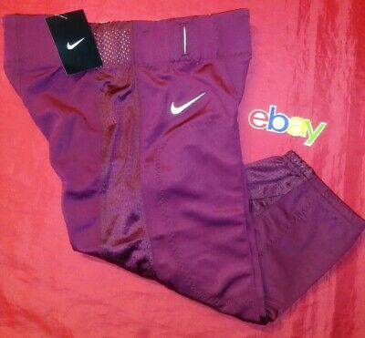 New Nike Men/'s L Pro Combat Speed Football Pant Grey MSRP $110