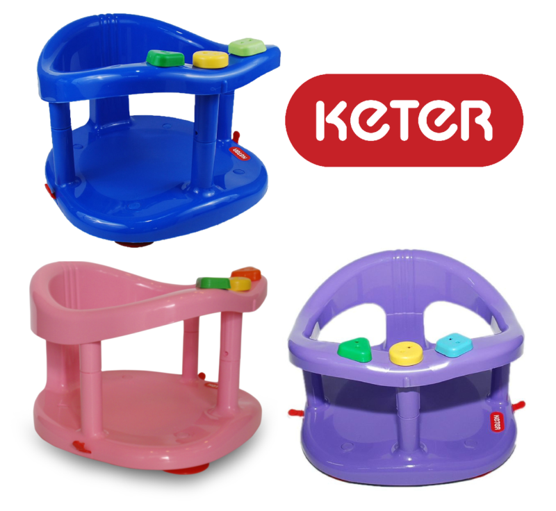 Baby Bath Tub Ring Seat KETER Color BLUE PINK FAST SHIPPING+Tracking New in BOX