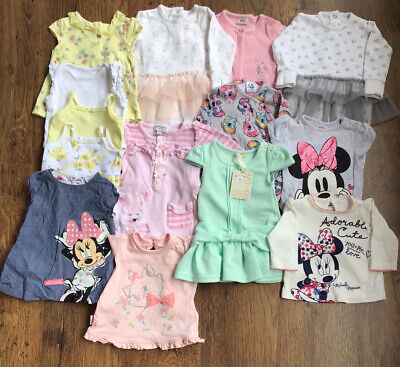 Baby Girl 0-3 Months Clothes Bundle - Disney Baby, Nutmeg/ One BNWT