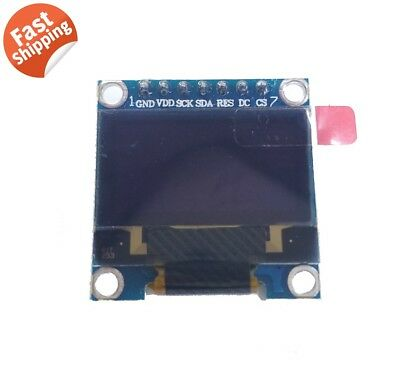 Hq 0.96 12864 Oled Graphic Display Module Spi Lcd - Color White Ssd1306