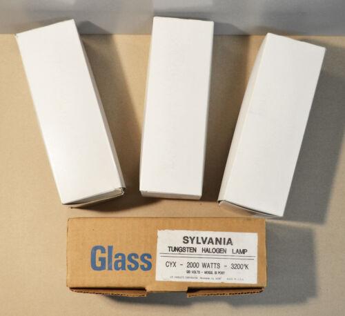CYX 2000W Lamp Bulbs (LOT OF 4) Stage Studio