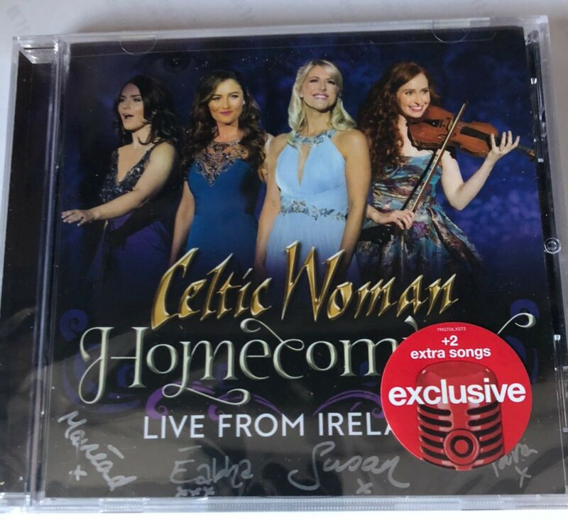 Celtic Woman - Homecoming Live From Ireland CD Signed booklet  Autographed