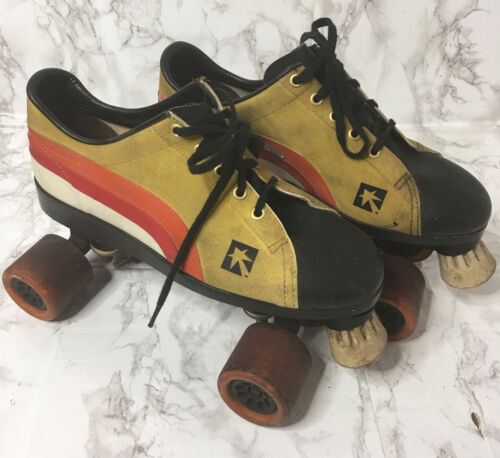 Vintage Roller Skates Size 10 Made In The USA