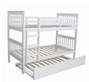 Timber trundle bunk bed Bruce Belconnen Area Preview