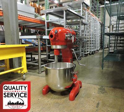 Red Hobart A200 Commercial 20 Quart Mixer W Timer