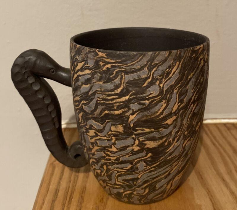 yixing seahorse tea mug