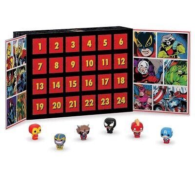 Advent Calendar: Marvel 80th Anniversary 24pc (Pkt POP) 2019