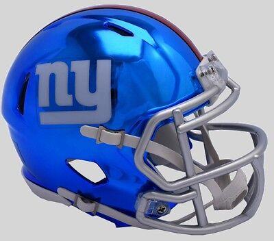 Ny Giants Birthday (NEW YORK GIANTS Mini Football Helmet BIRTHDAY WEDDING CAKE TOPPER)