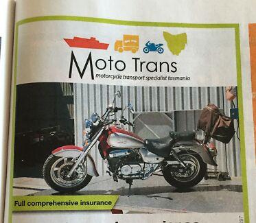 Moto Trans Tasmania, A new name in motorcycle transport in Tas