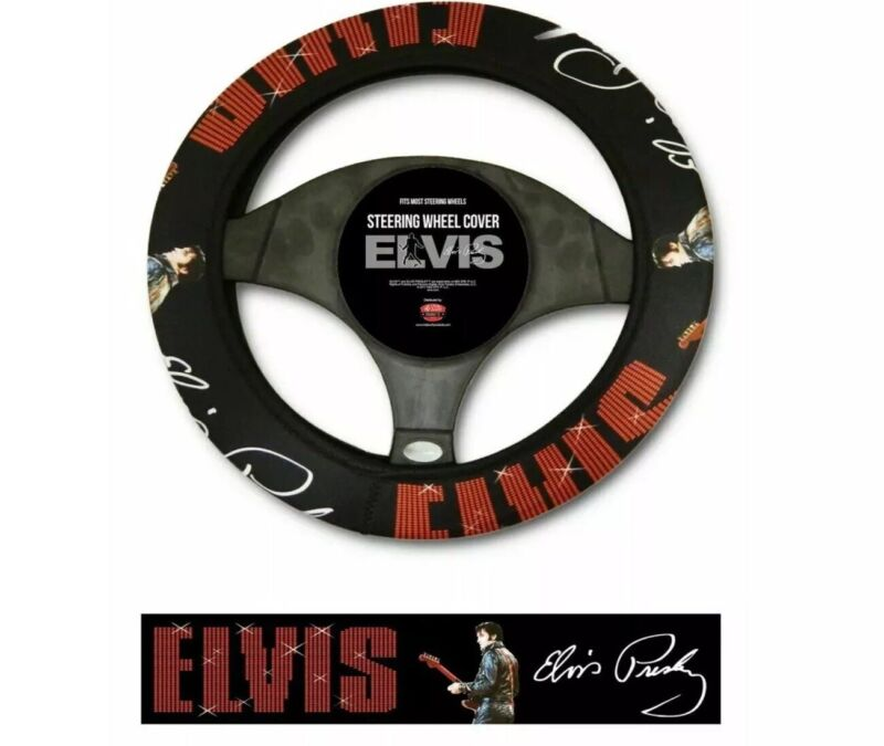 Elvis 68 Comeback Steering Wheel Cover / Direct From Memphis / Graceland