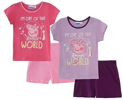 In The Dark Short Pyjamas Kids Novelty Shortie Pjs Set Size (Glow In The Dark Pjs)
