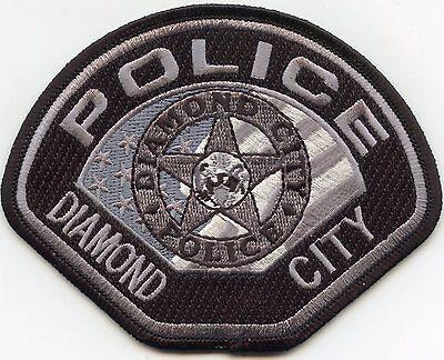 DIAMOND CITY ARKANSAS AR POLICE PATCH