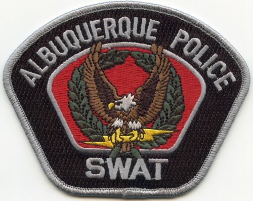 ALBUQUERQUE NEW MEXICO NM Special Weapons And Tactics SWAT colorful POLICE PATCH