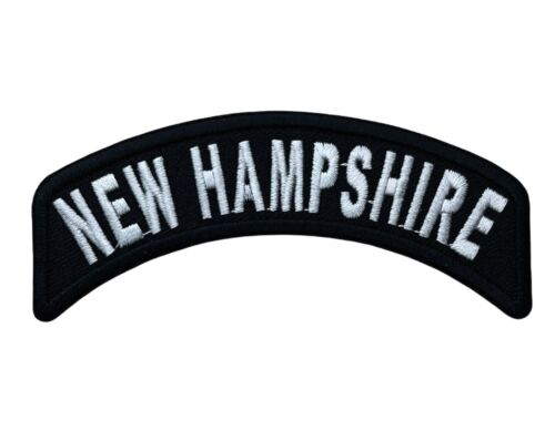 New Hampshire NH State Rocker Patch IV1456 F6D4Y